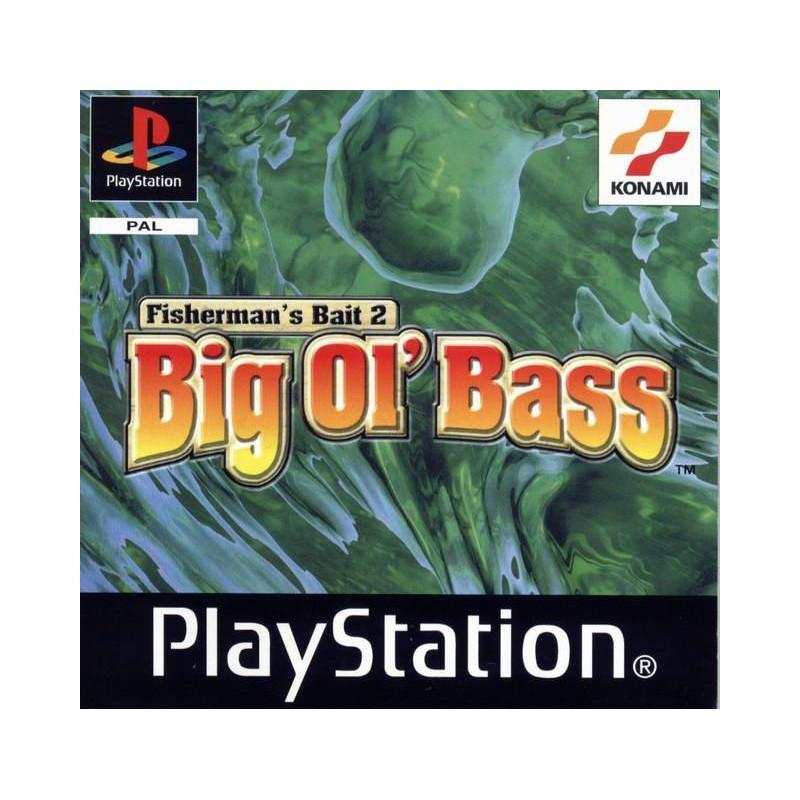 PSX FISHERMAN S BAIT 2 BIG OL BASS - Jeux PS1 au prix de 6,95€