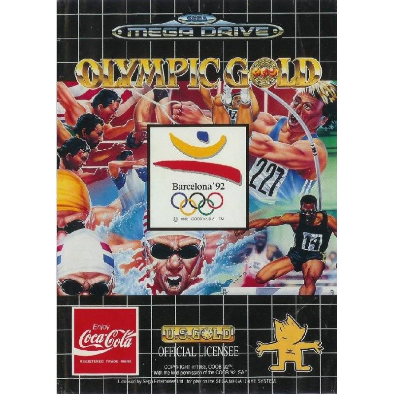MD OLYMPIC GOLD - Jeux Mega Drive au prix de 5,95€