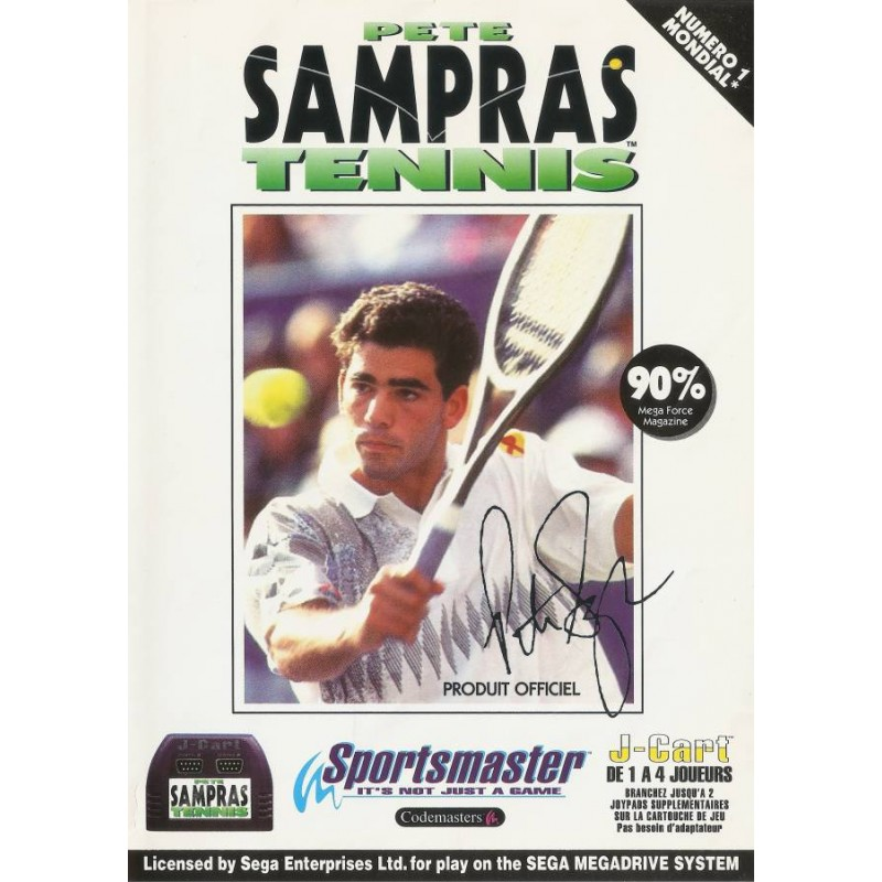 MD PETE SAMPRAS TENNIS - Jeux Mega Drive au prix de 3,95€