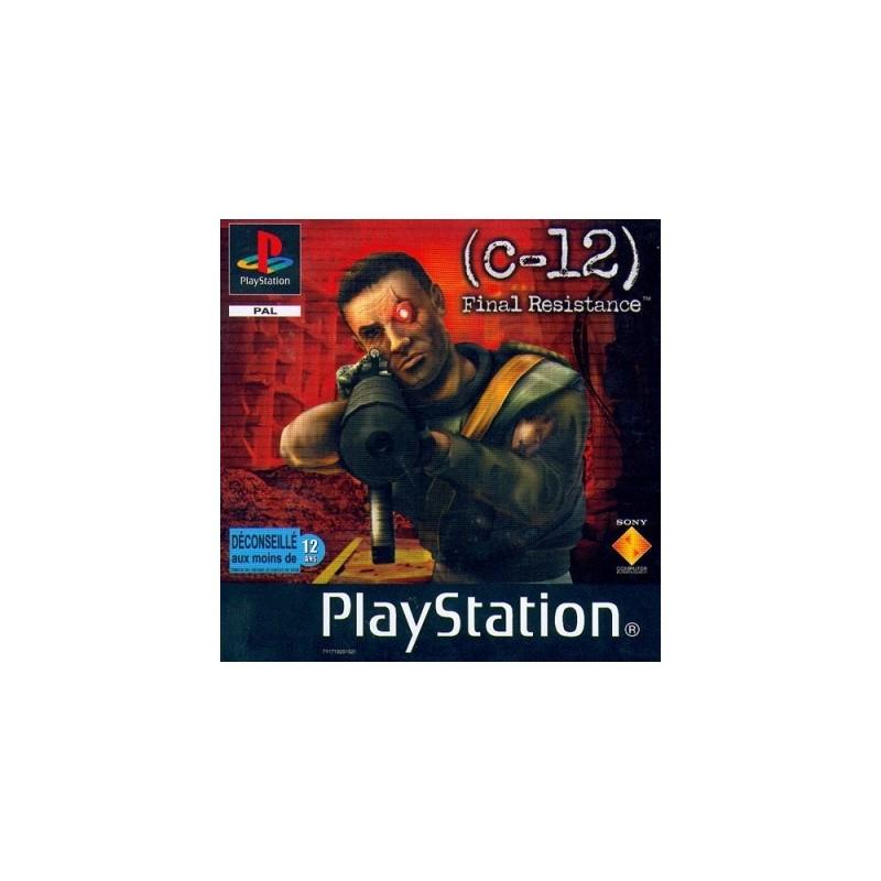PSX C 12 FINAL RESISTANCE - Jeux PS1 au prix de 3,95€