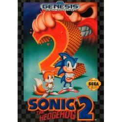 MD SONIC THE HEDGEHOG 2 (IMPORT US) - Jeux Mega Drive au prix de 7,95€