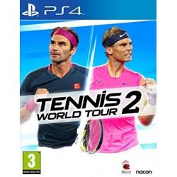 PS4 TENNIS WORLD TOUR 2 OCC - Jeux PS4 au prix de 24,95€