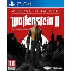 PS4 WOLFENSTEIN II EDITION WELCOME TO AMERIKA OCC - Jeux PS4 au prix de 14,95€