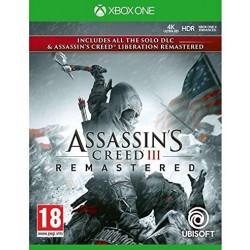 XONE ASSASSIN S CREED III REMASTERED OCC - Jeux Xbox One au prix de 14,95€