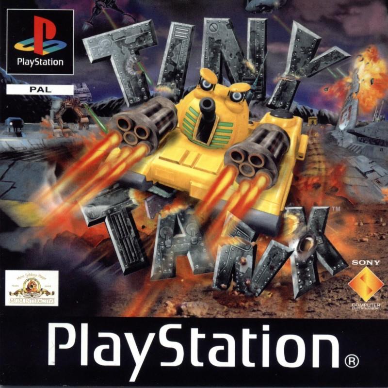 PSX TINY TANK - Jeux PS1 au prix de 5,95€