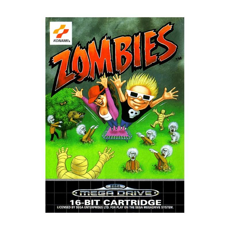 MD ZOMBIES - Jeux Mega Drive au prix de 39,95€