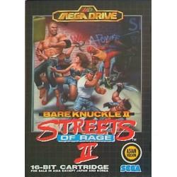 MD BARE KNUCKLE II STREETS OF RAGE II (IMPORT ASIE) - Jeux Mega Drive au prix de 44,95€