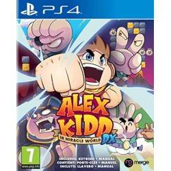 PS4 ALEX KIDD IN MIRACLE WORLD DX - Jeux PS4 au prix de 34,95€