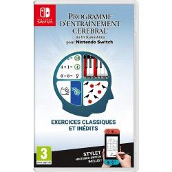 SWITCH PROGRAMME D ENTRAINEMENT CEREBRALE DU DR KAWASHIMA OCC - Jeux Switch au prix de 19,95€