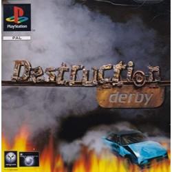 PSX DESTRUCTION DERBY - Jeux PS1 au prix de 4,95€