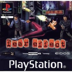 PSX FEAR EFFECT (SANS NOTICE) - Jeux PS1 au prix de 9,95€
