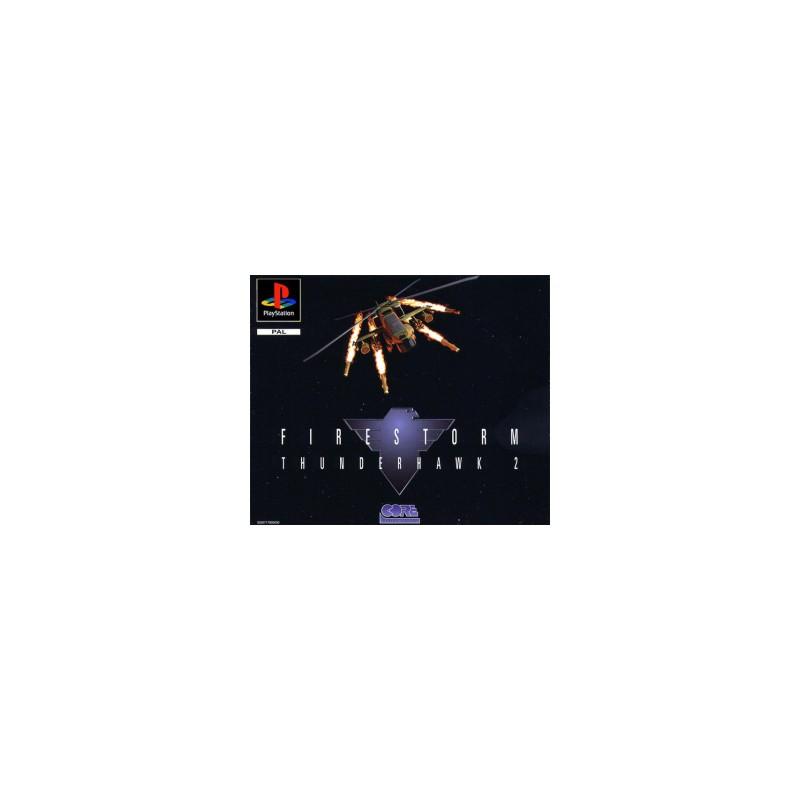 PSX FIRESTORM THUNDERHAWK 2 - Jeux PS1 au prix de 1,95€