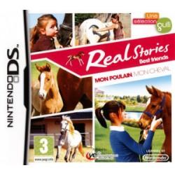 DS REAL STORIES MON POULAIN MON CHEVAL - Jeux DS au prix de 6,95€