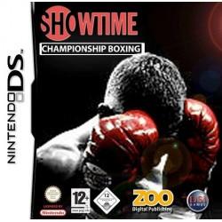 DS SHOWTIME CHAMPIONSHIP BOXING - Jeux DS au prix de 4,95€