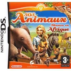 DS SOS ANIMAUX MISSION EN AFRIQUE - Jeux DS au prix de 5,95€