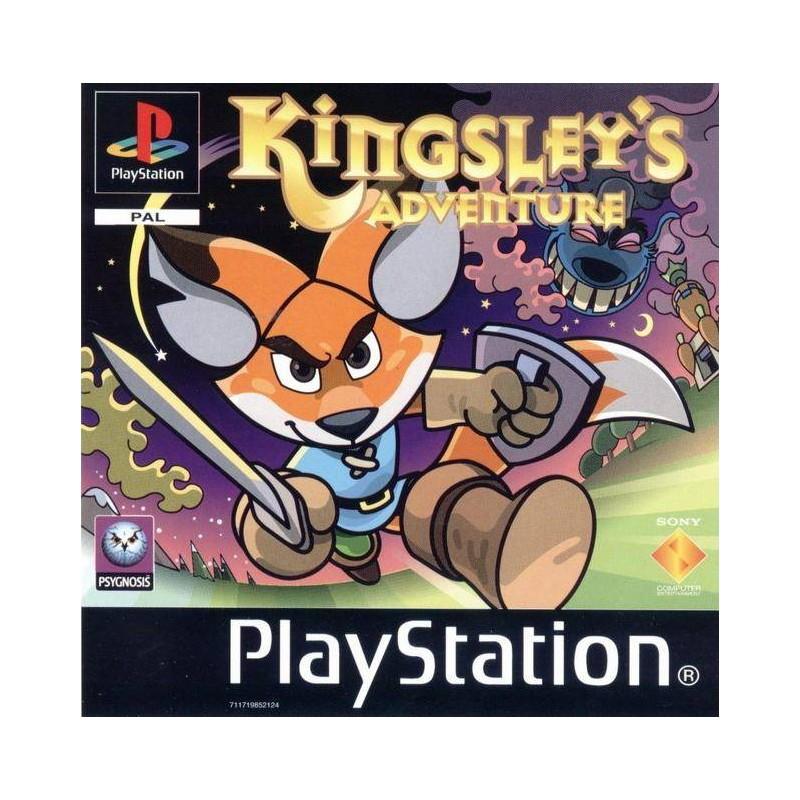 PSX KINGSLEY S ADVENTURE - Jeux PS1 au prix de 34,95€