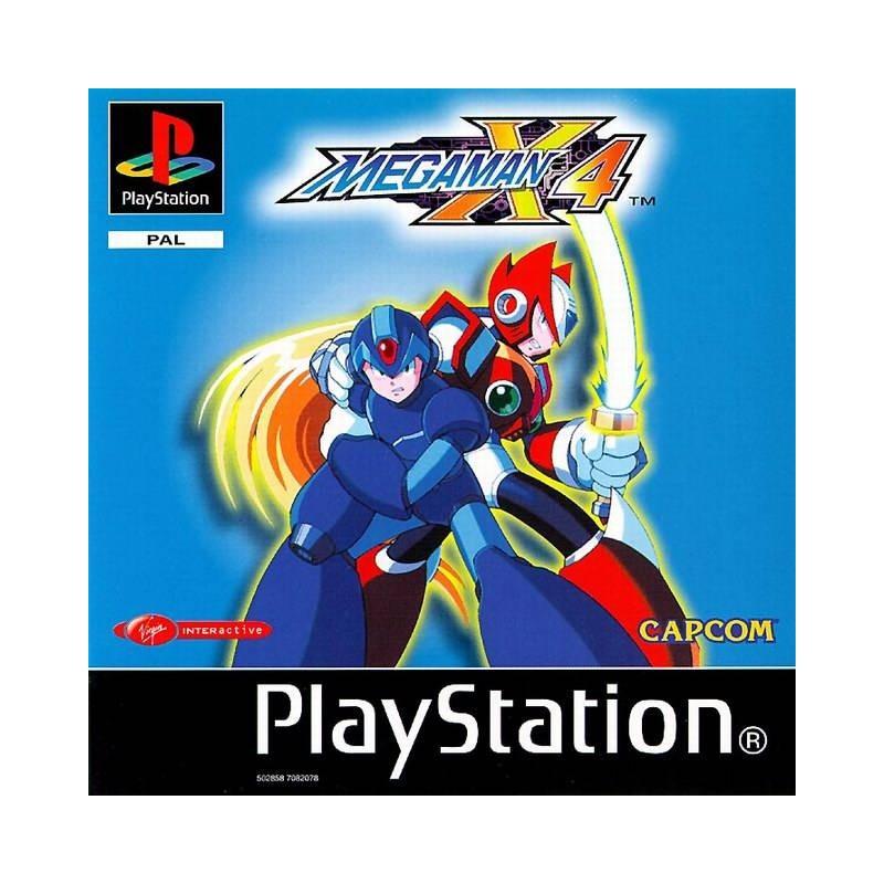 PSX MEGA MAN X4 - Jeux PS1 au prix de 129,95€