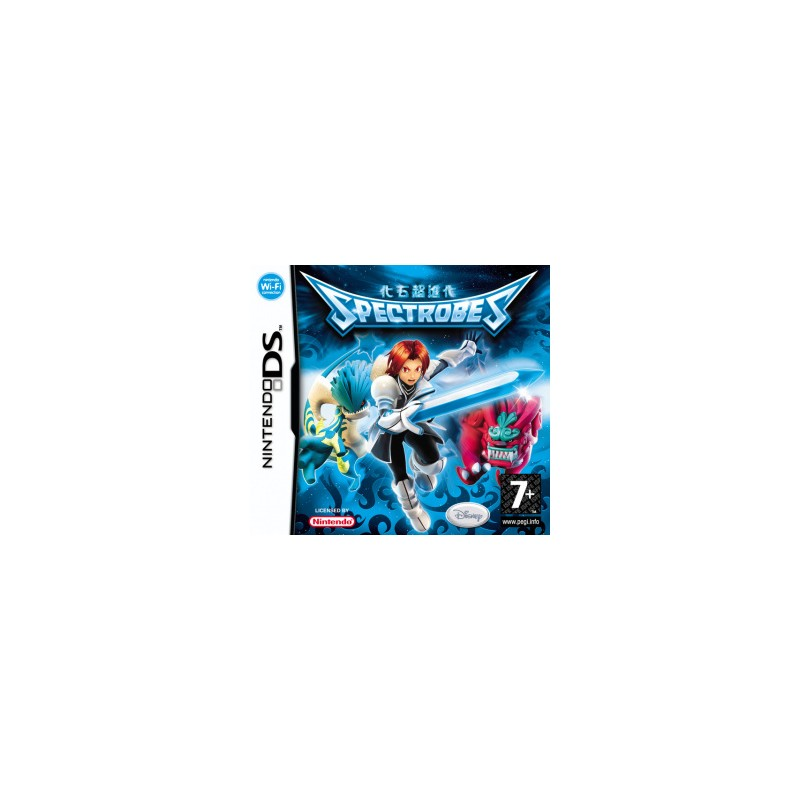 DS SPECTROBES - Jeux DS au prix de 4,95€