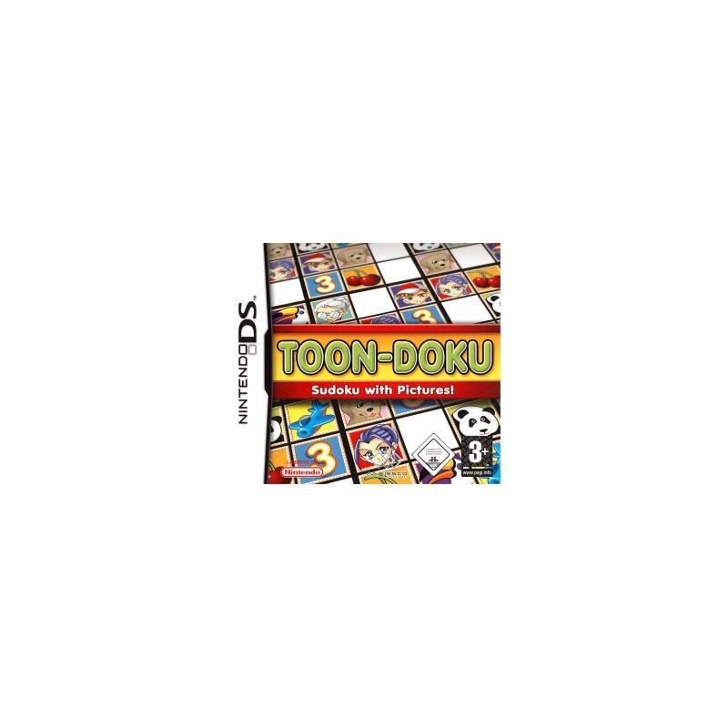 DS TOON DOKU SUDOKU WITH PICTURES - Jeux DS au prix de 14,95€