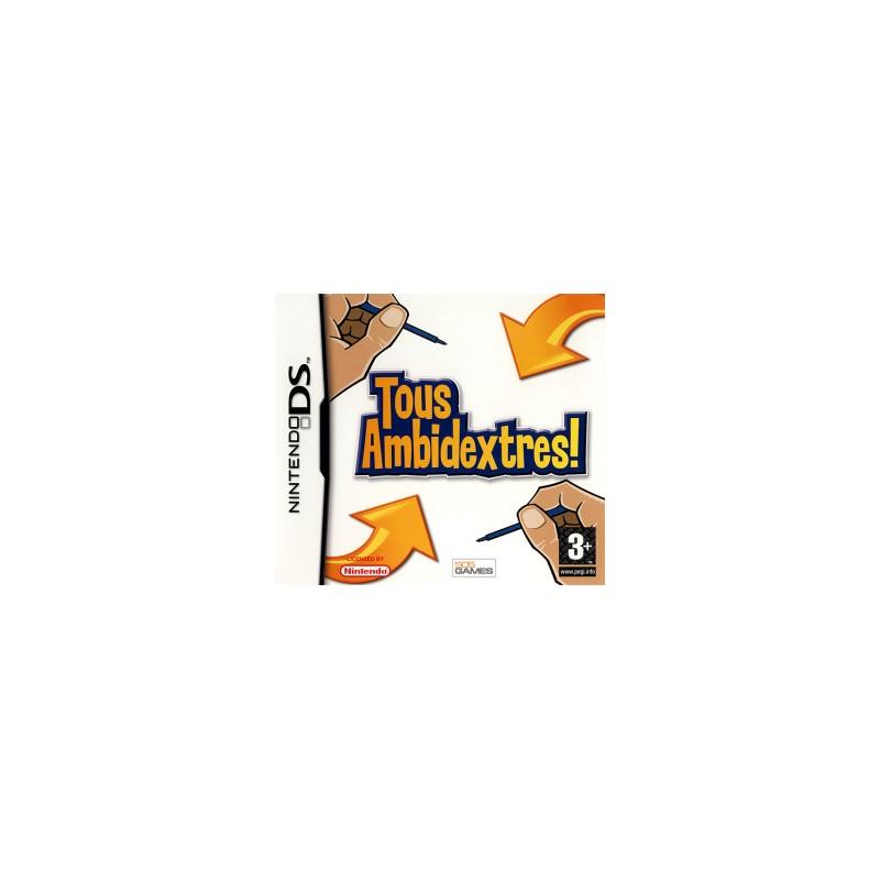DS TOUS AMBIDEXTRES - Jeux DS au prix de 6,95€