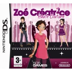 DS ZOE CREATRICE HAUTE COUTURE - Jeux DS au prix de 16,95€