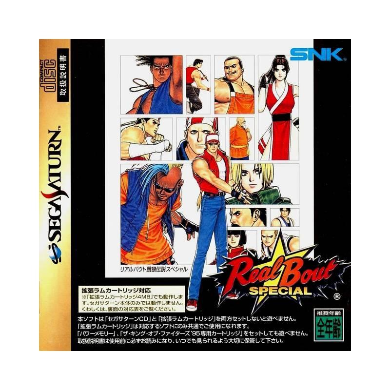 SAT REAL BOUT SPECIAL (IMPORT JAP) - Jeux Saturn au prix de 29,95€