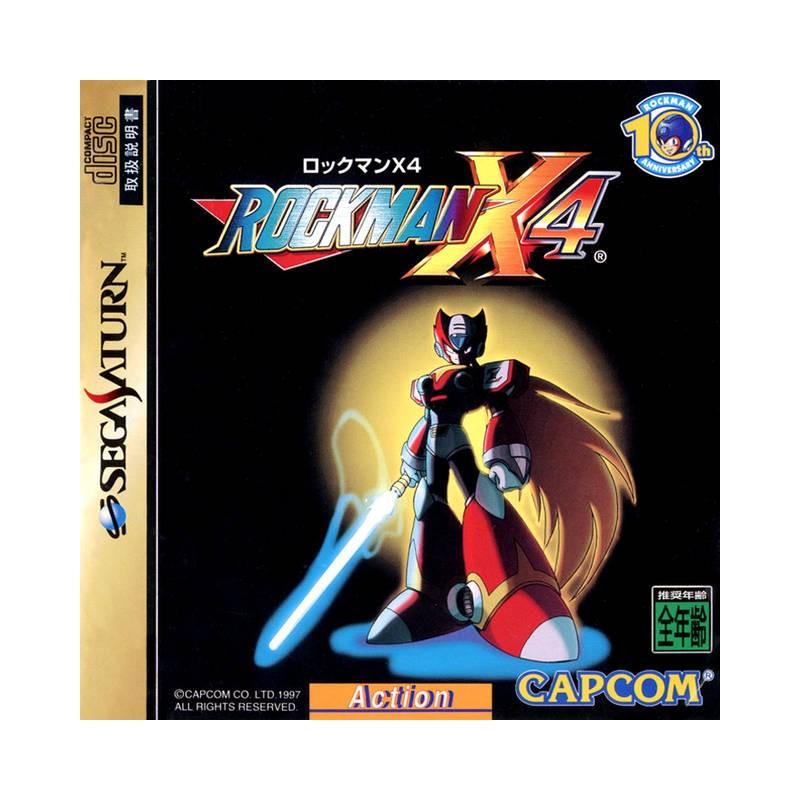 SAT ROCKMAN X4 (IMPORT JAP) - Jeux Saturn au prix de 34,95€