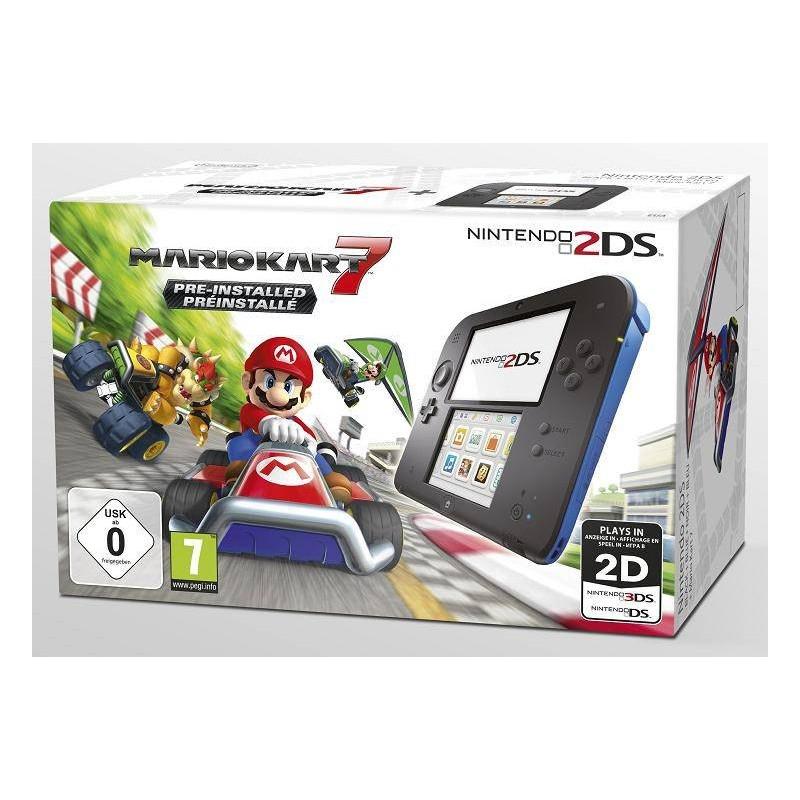 CONSOLE 2DS MARIO KART 7 - Consoles 2DS au prix de 99,95€
