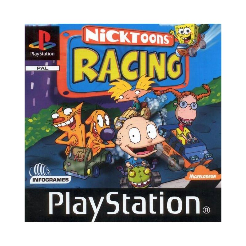 PSX NICKTOONS RACING - Jeux PS1 au prix de 0,00€