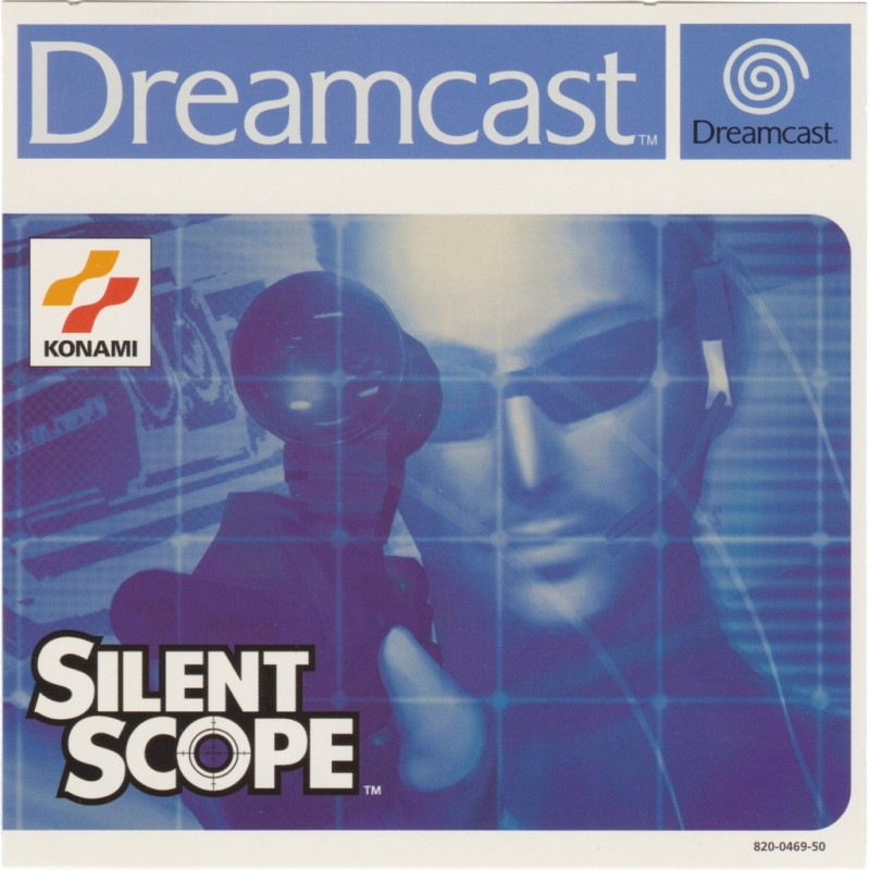 DC SILENT SCOPE - Jeux Dreamcast au prix de 9,95€