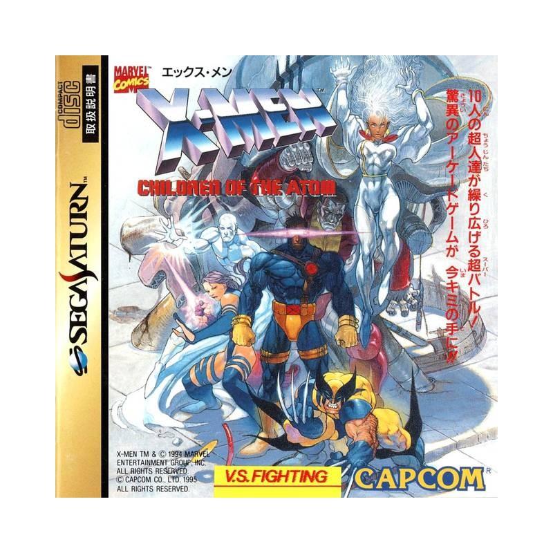 SAT X MEN CHILDREN OF THE ATOM (IMPORT JAP) - Jeux Saturn au prix de 29,95€