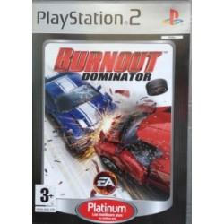 PS2 BURNOUT DOMINATOR (PLATINUM) - Jeux PS2 au prix de 3,95€