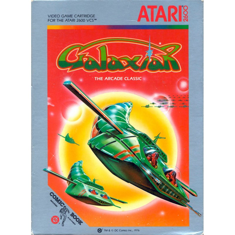 AT26 GALAXIAN - Gamme Atari au prix de 6,95€