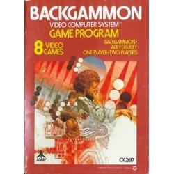 AT26 BACKGAMMON - Gamme Atari au prix de 9,95€