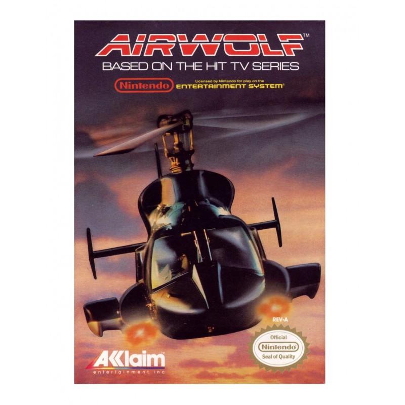 NES AIRWOLF - Jeux NES au prix de 19,95€