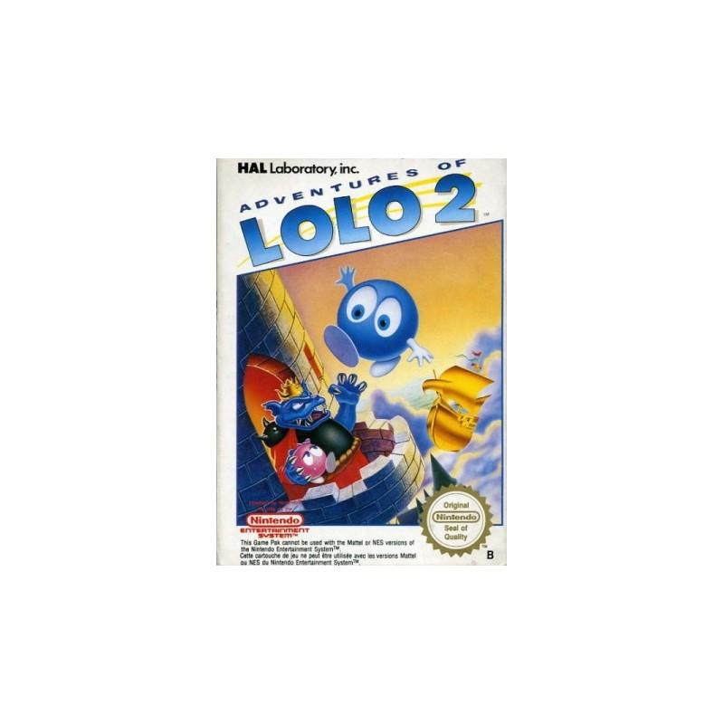NES ADVENTURES OF LOLO 2 - Jeux NES au prix de 21,95€