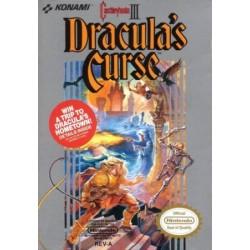 NES CASTELVANIA 3 DRACULA S CURSE - Jeux NES au prix de 129,95€