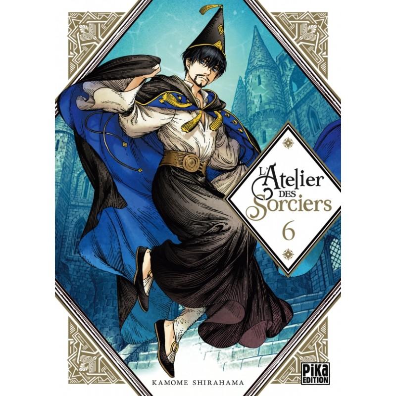 L ATELIER DES SORCIERS T06 - Manga au prix de 7,50€