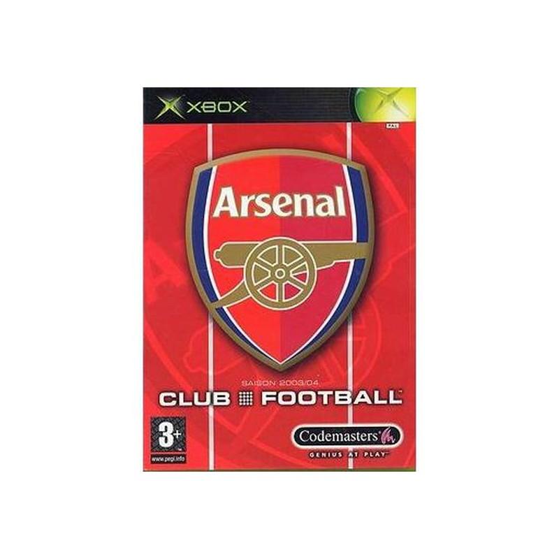 XB CLUB FOOTBALL ARSENAL - Jeux Xbox au prix de 9,95€
