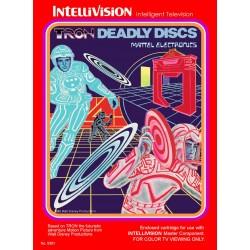 INT TRON DEADLY DISCS - Intellevision au prix de 9,95€