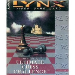 LX ULTIMATE CHESS CHALENGE - Lynx au prix de 4,95€
