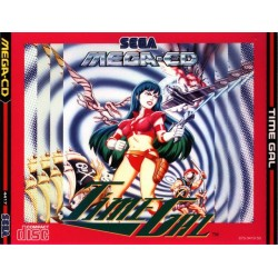 MCD TIME GAL - Mega-CD au prix de 29,95€
