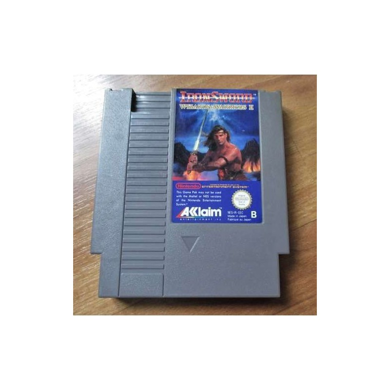 NES IRONSWORD WIZARDS AND WARRIORS II (LOOSE) - Jeux NES au prix de 4,95€