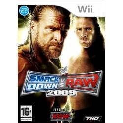 WII WWE SMACKDOWN VS RAW 2009 - Jeux Wii au prix de 6,95€
