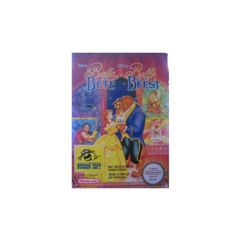 NES LA BELLE ET LA BETE - Jeux NES au prix de 69,95€