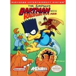 NES THE SIMPSONS BARTMAN MEETS RADIOACTIVE MAN - Jeux NES au prix de 119,95€