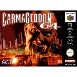 N64 CARMAGEDDON 64 - Jeux Nintendo 64 au prix de 4,95€