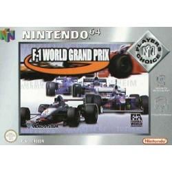 N64 F1 WORLD GRAND PRIX PLAYER S CHOICE (SANS NOTICE) - Jeux Nintendo 64 au prix de 7,95€