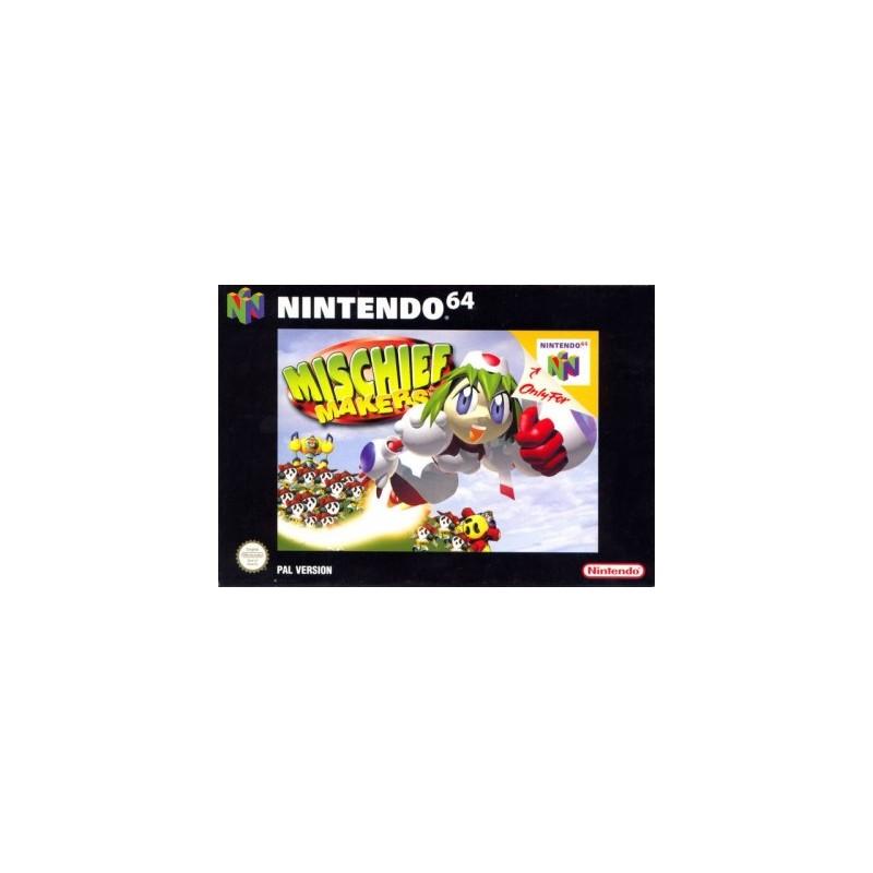 N64 MISCHIEF MAKERS - Jeux Nintendo 64 au prix de 39,95€