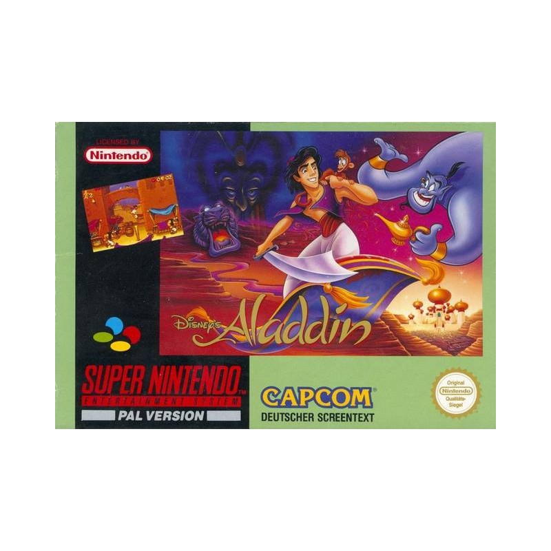 SN ALADDIN - Jeux Super NES au prix de 29,95€